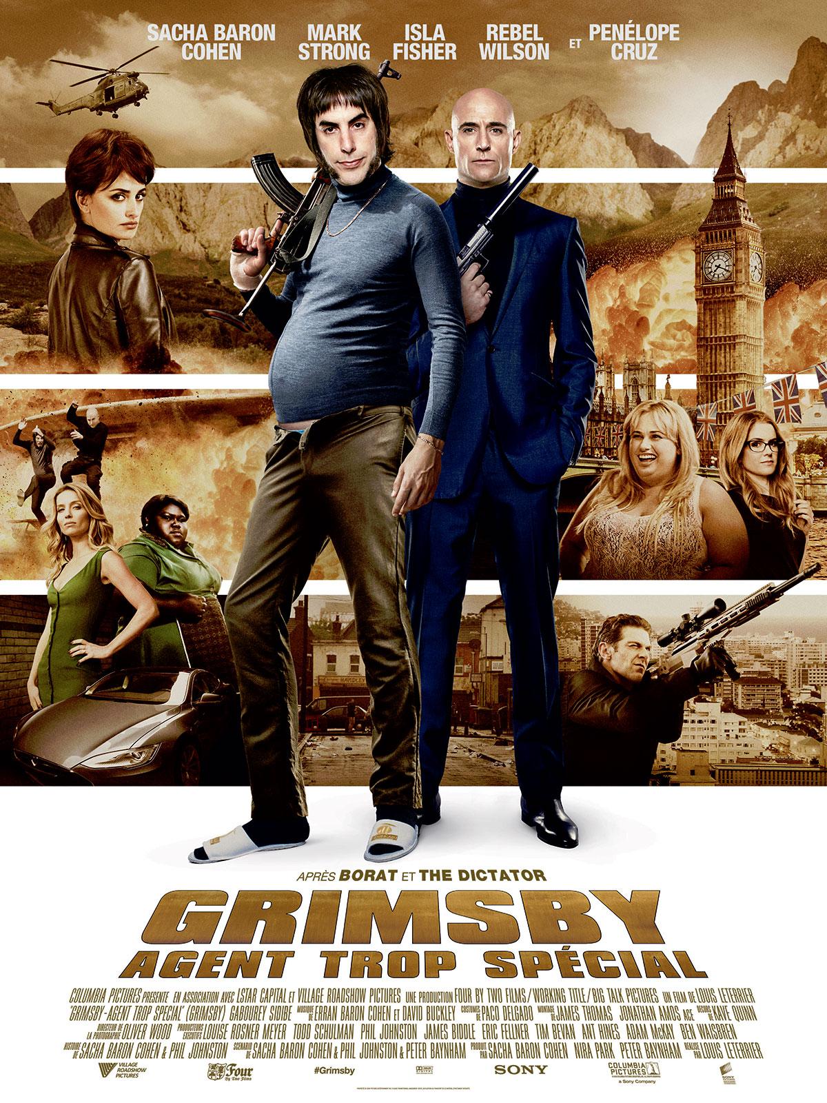 Grimsby - Agent trop spécial : Affiche