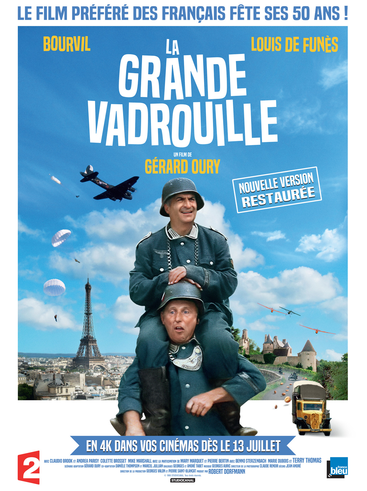 Image result for la grande vadrouille