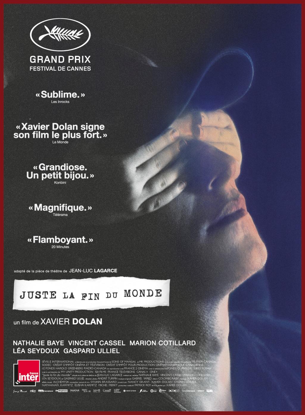Juste La Fin Du Monde Avis : juste, monde, Critique, Juste, Monde, AlloCiné