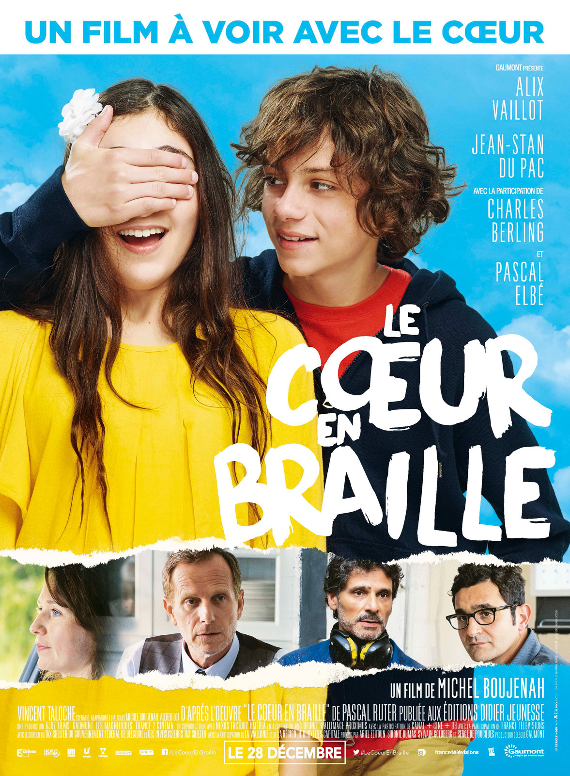 Le Coeur en braille Français BDRiP
