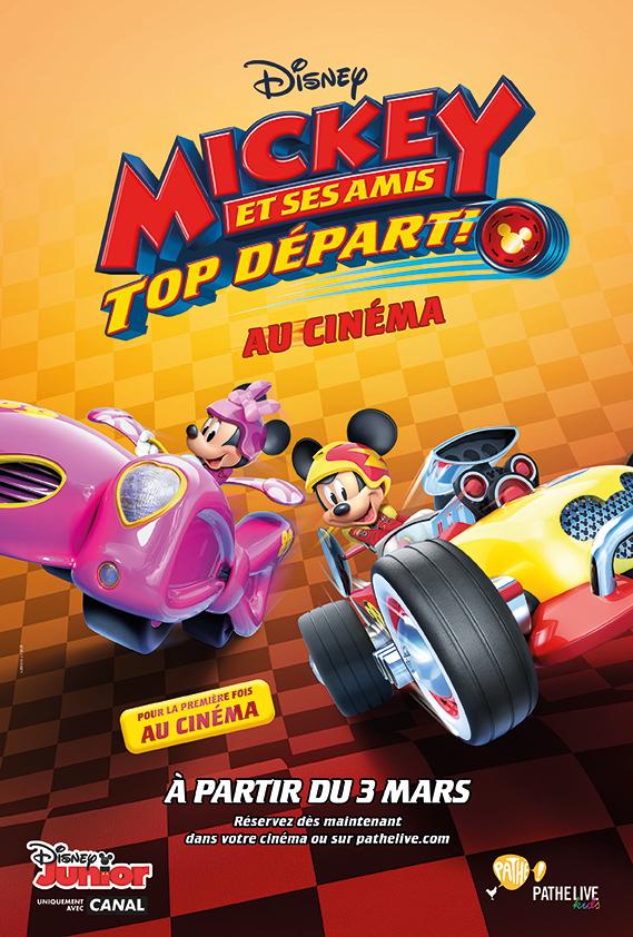 GARAGE DE MICKEY ET SES AMIS TOP DÉPART | IMC toys