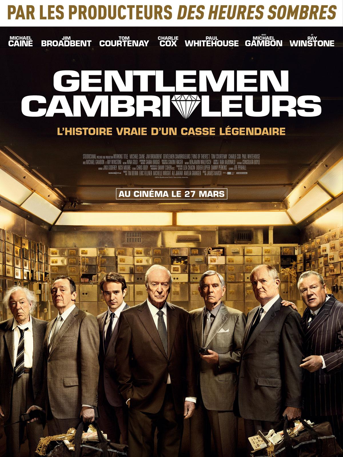 Sortie Cinema 27 Mars 2019 : sortie, cinema, Gentlemen, Cambrioleurs, AlloCiné