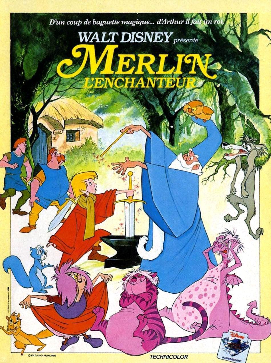 Merlin L'enchanteur Disney Streaming : merlin, l'enchanteur, disney, streaming, Achat, Merlin, L'enchanteur, AlloCiné