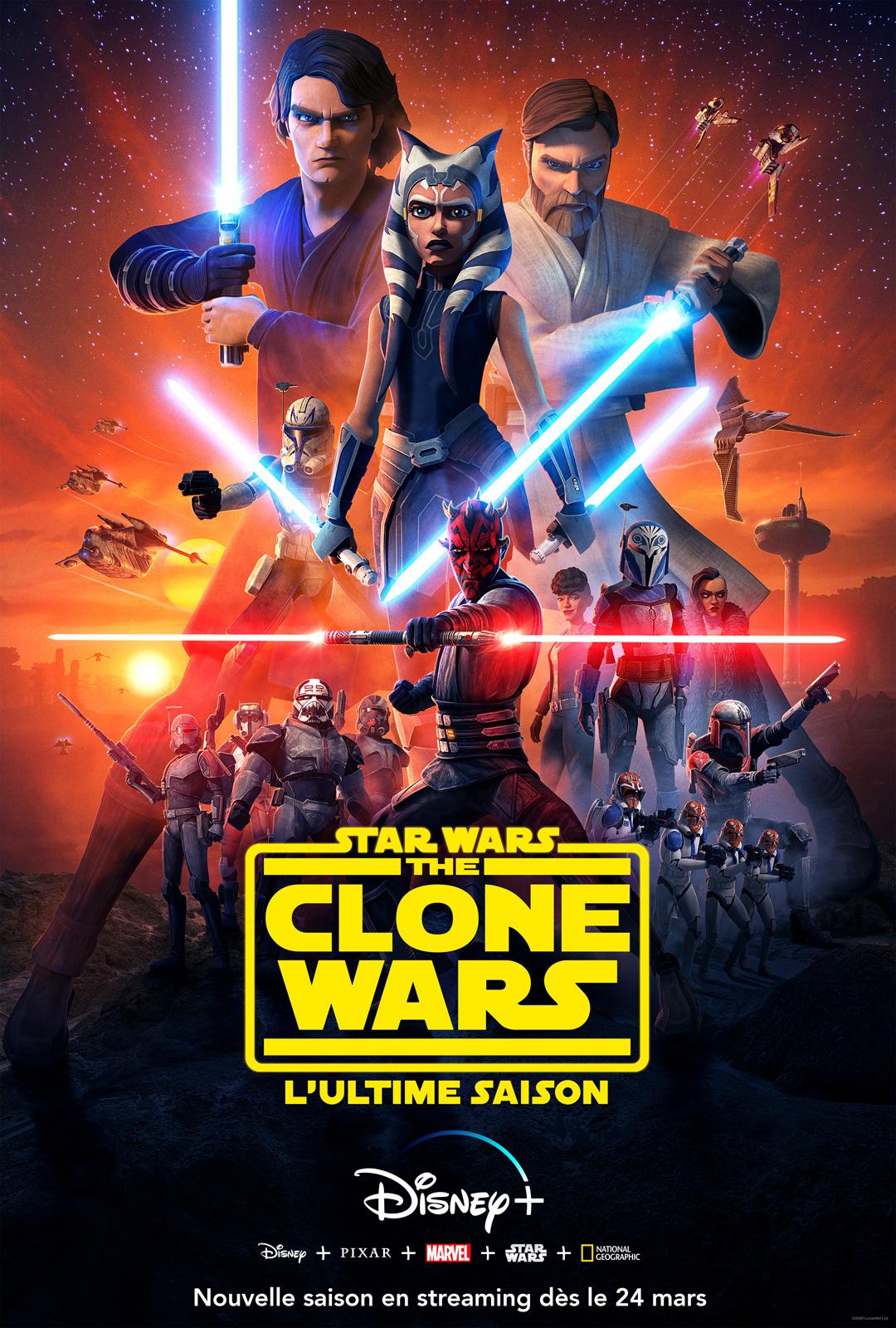 Star Wars 8 Diffusion Tv : diffusion, Wars:, Clone, (2008), Série, AlloCiné