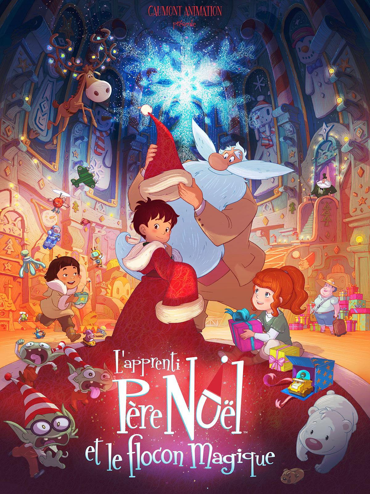 L'Apprenti Père Noël et le flocon magique : Le film