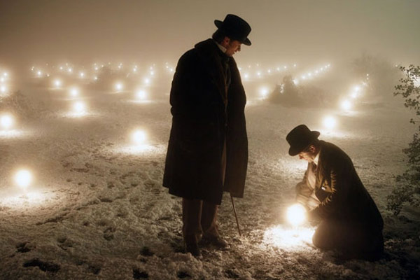 Le Prestige : Photo Christian Bale, Hugh Jackman