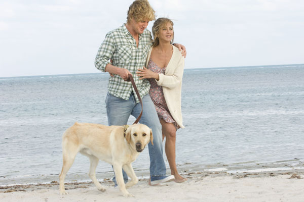 Marley & moi : Photo David Frankel, Jennifer Aniston, Owen Wilson