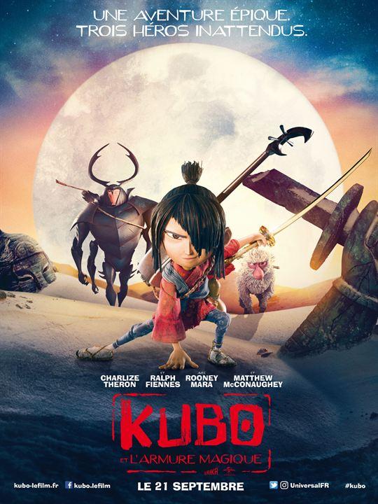 Kubo et l'armure magique : Affiche