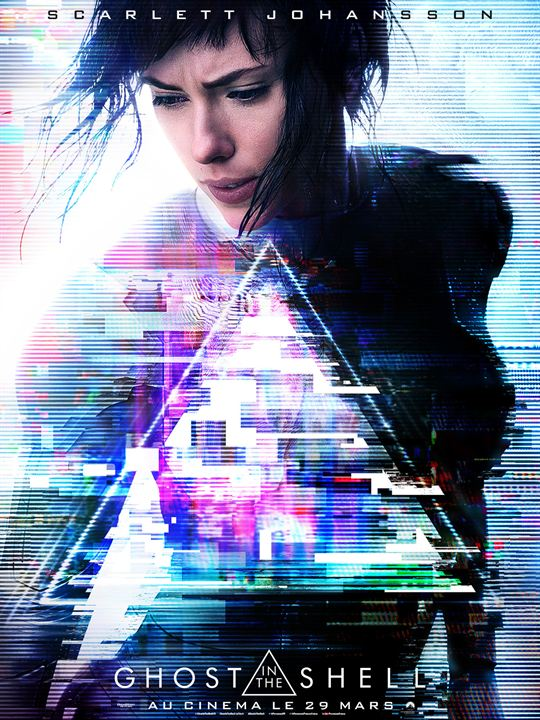 Ghost In The Shell : Affiche