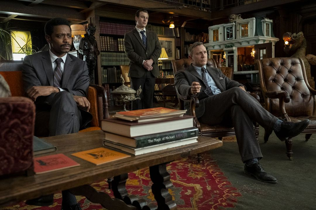 À couteaux tirés : Photo Daniel Craig, Lakeith Stanfield, Noah Segan