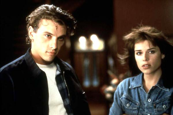 Billy Loomis (Skeet Ulrich) et Sidney Prescott (Neve Campbell)