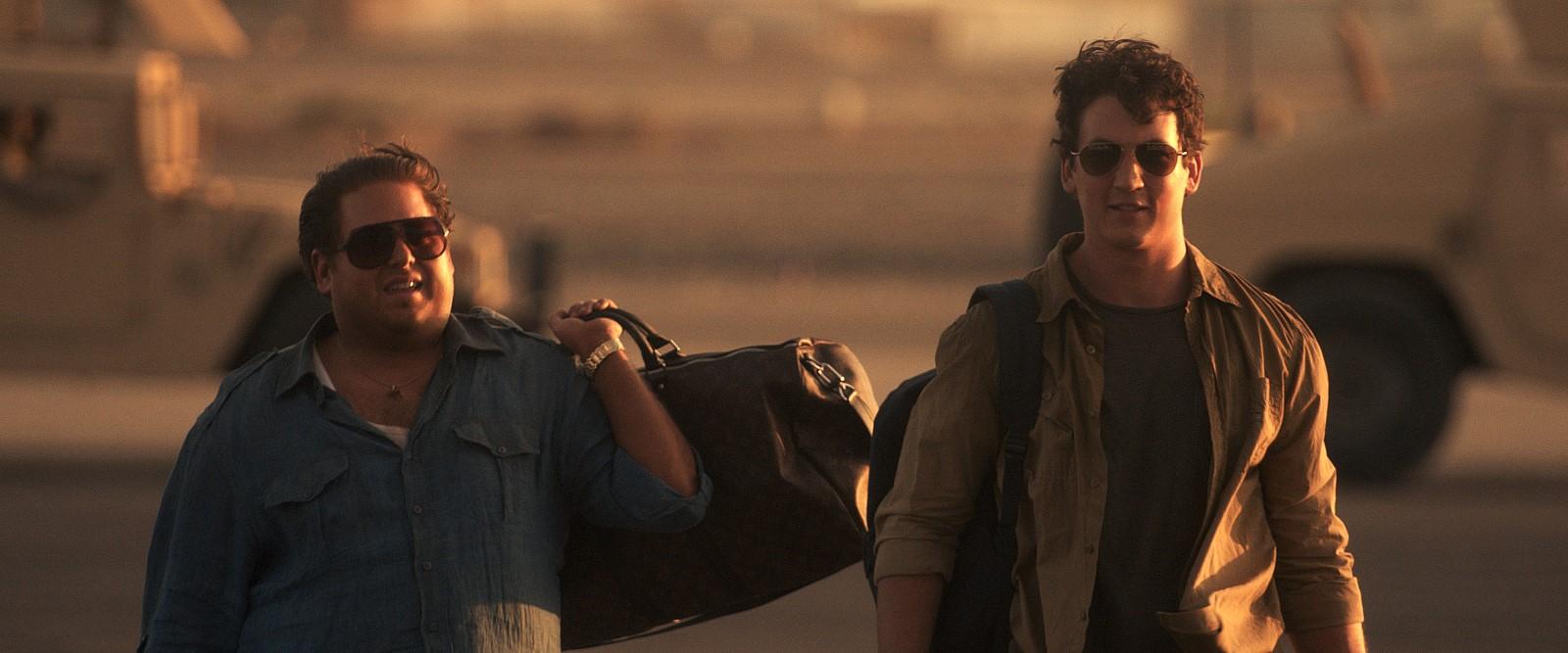 Efraim (Jonah Hill) et David (Miles Teller)