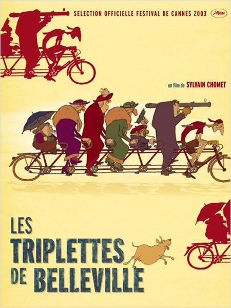 Affiche - Les triplettes de Belleville