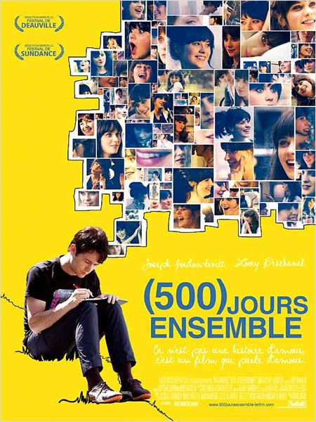 Affiche - 500 jours ensemble