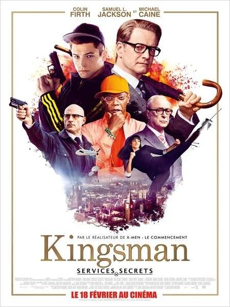 Kingsman : Services secrets : Affiche