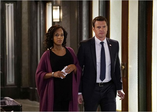 Photo Kerry Washington, Scott Foley