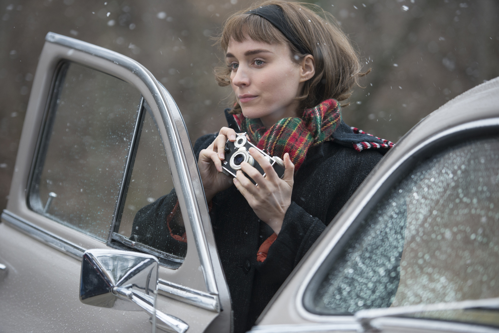 Carol : Photo Rooney Mara