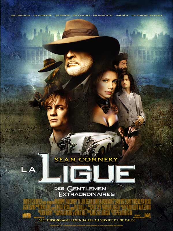 La Ligue Des Gentlemen Extraordinaires 2 : ligue, gentlemen, extraordinaires, Achat, Ligue, Gentlemen, Extraordinaires, AlloCiné