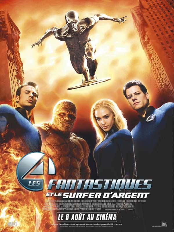 Les 4 Fantastique 2005 : fantastique, Fantastiques, Surfer, D'Argent, AlloCiné