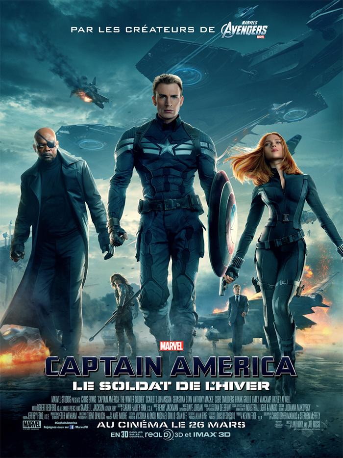 Captain America Et Le Soldat De L'hiver : captain, america, soldat, l'hiver, Achat, Captain, America,, Soldat, L'hiver, AlloCiné