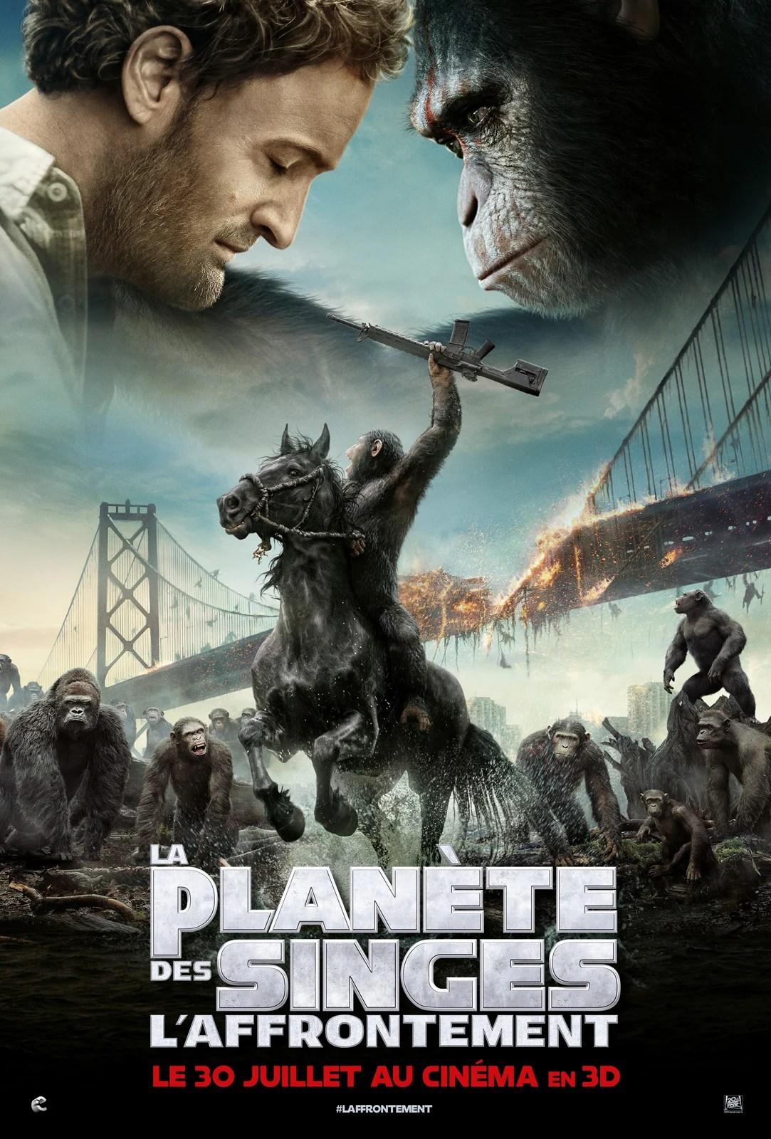 La Planète Des Singes : L'affrontement : planète, singes, l'affrontement, Achat, Planète, Singes, L'affrontement, AlloCiné