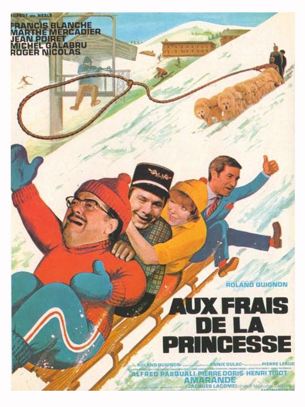 Aux frais de la princesse - film 1969 - AlloCiné