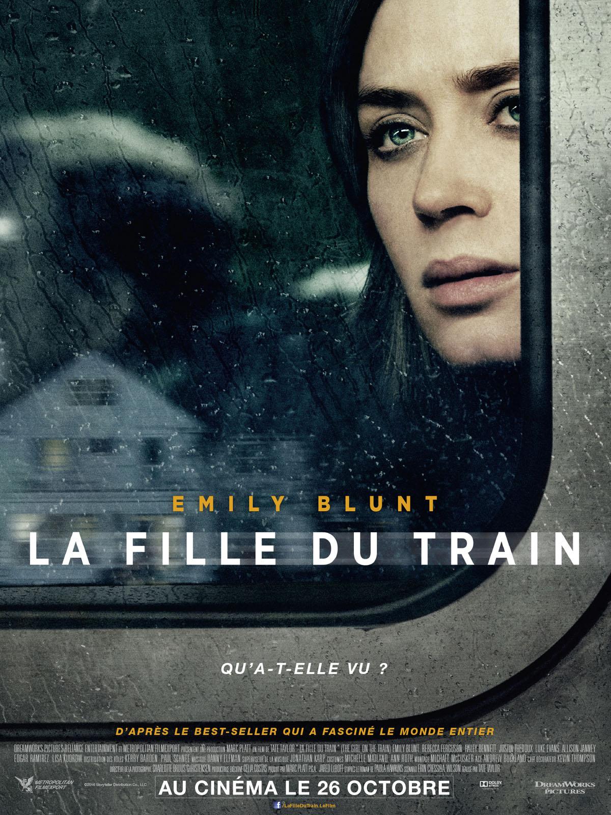 La Fille Du Train Film : fille, train, Achat, Fille, Train, AlloCiné