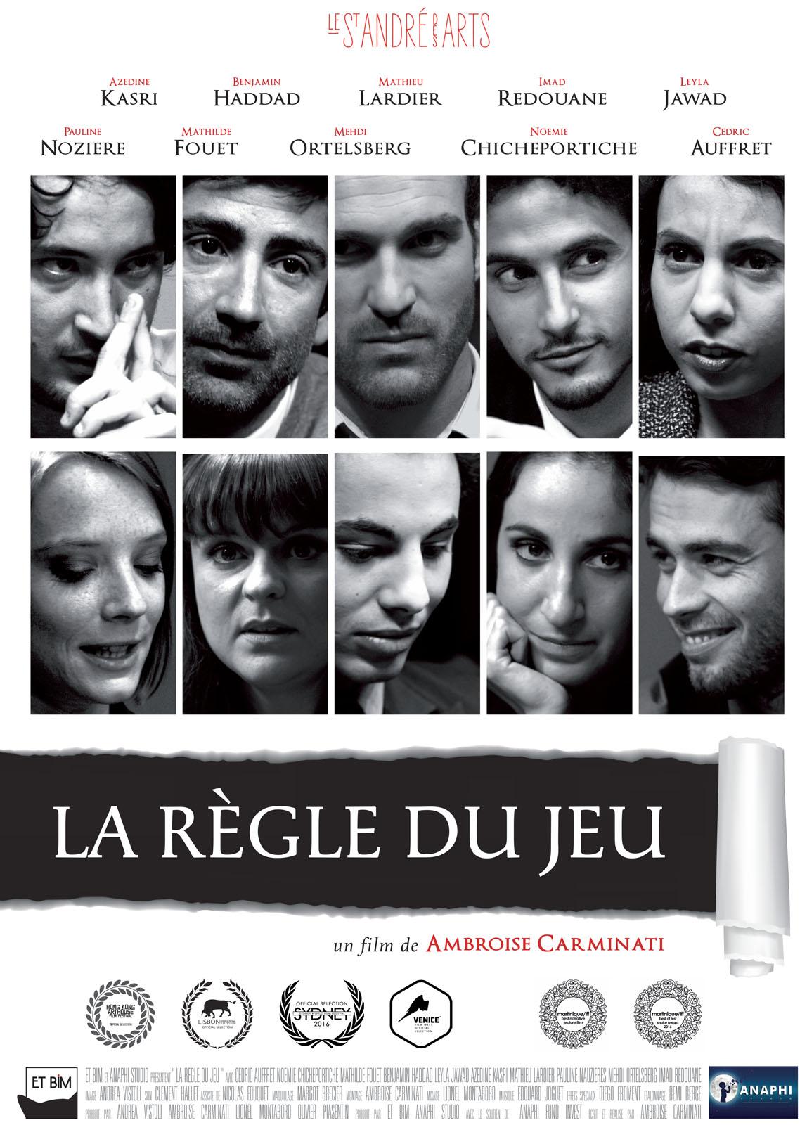 La Regle Du Jeu Film : regle, Règle, AlloCiné