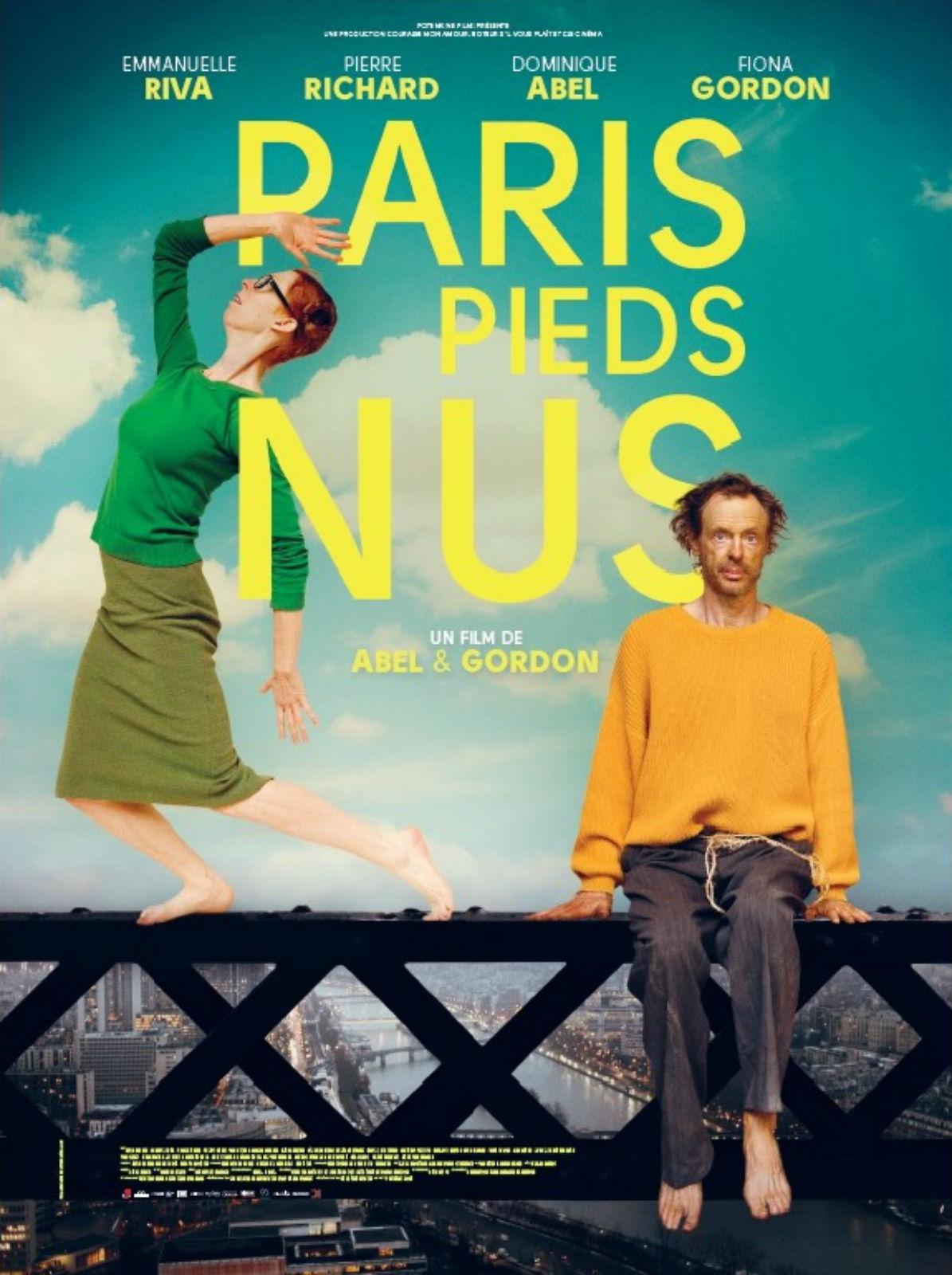 Paris pieds nus Français BDRiP