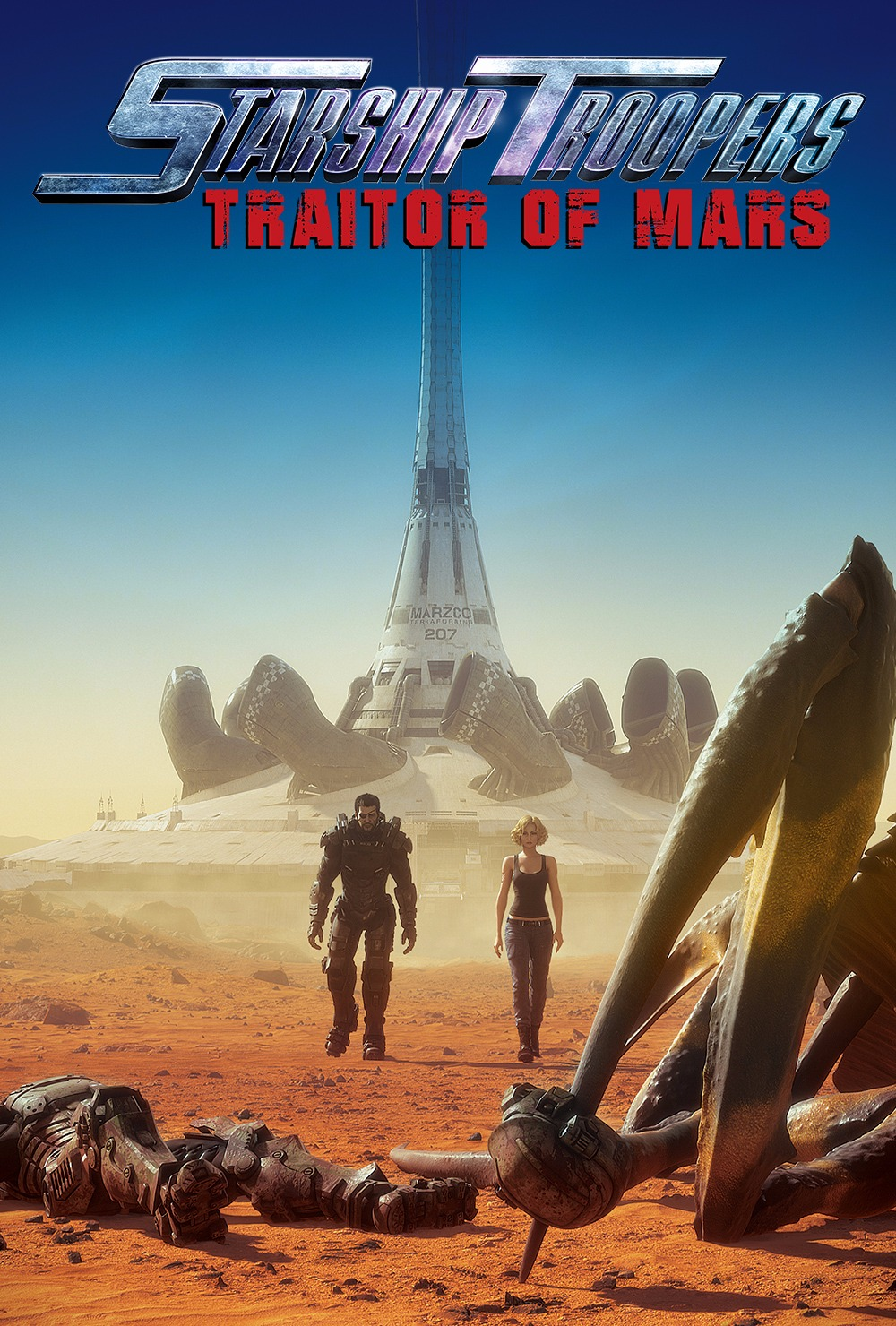 Starship Troopers: Traitor Of Mars Français BDRiP