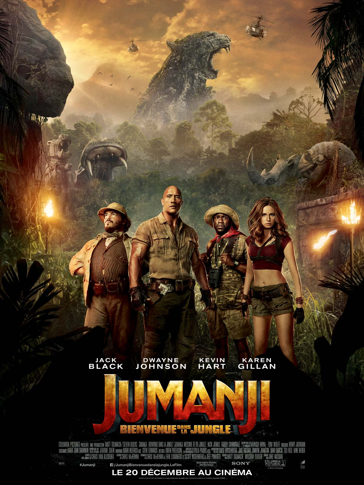Jumanji : Bienvenue dans la jungle Truefrench TS