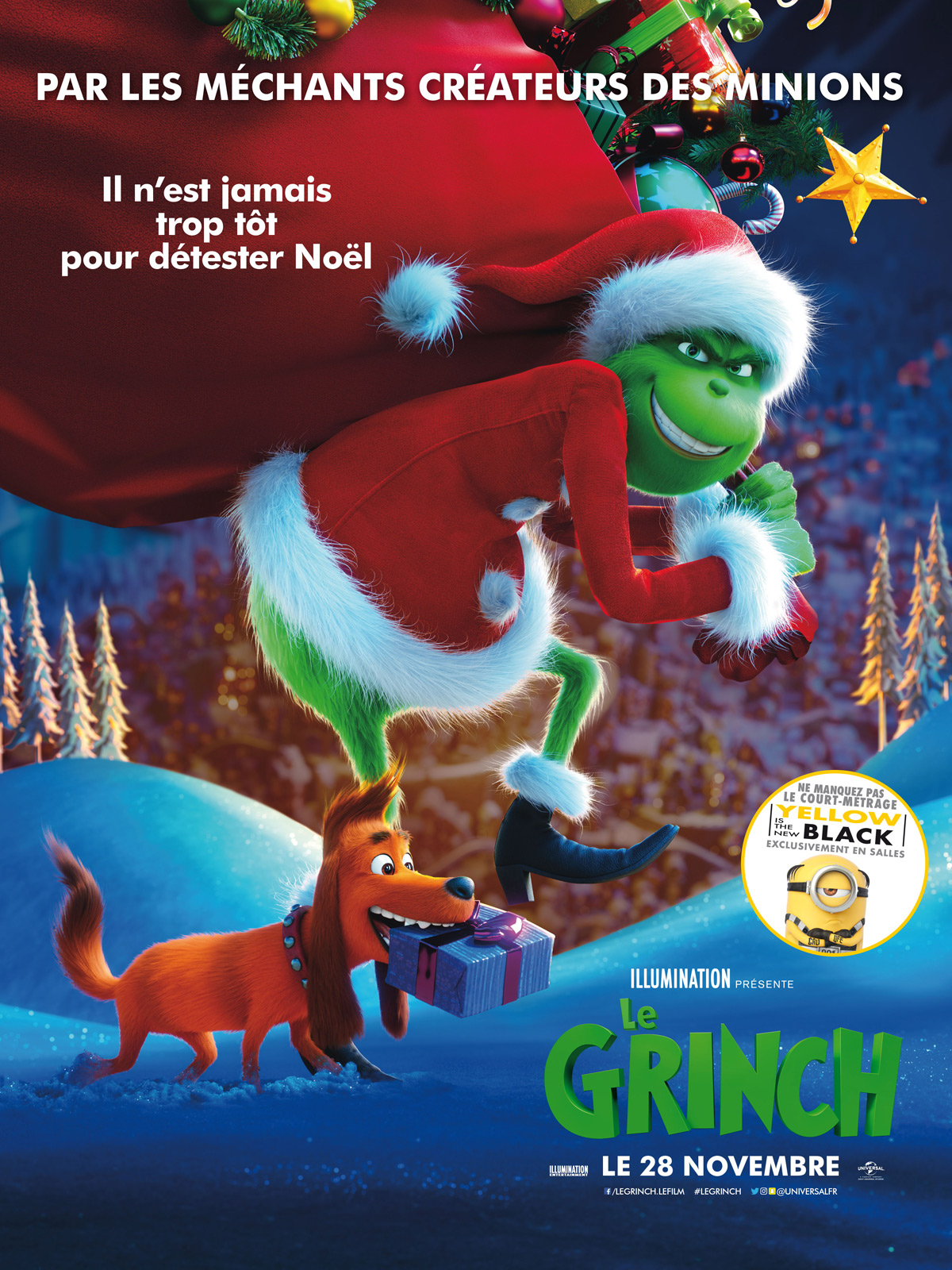 Le Grinch 2018 Streaming : grinch, streaming, Achat, Grinch, AlloCiné