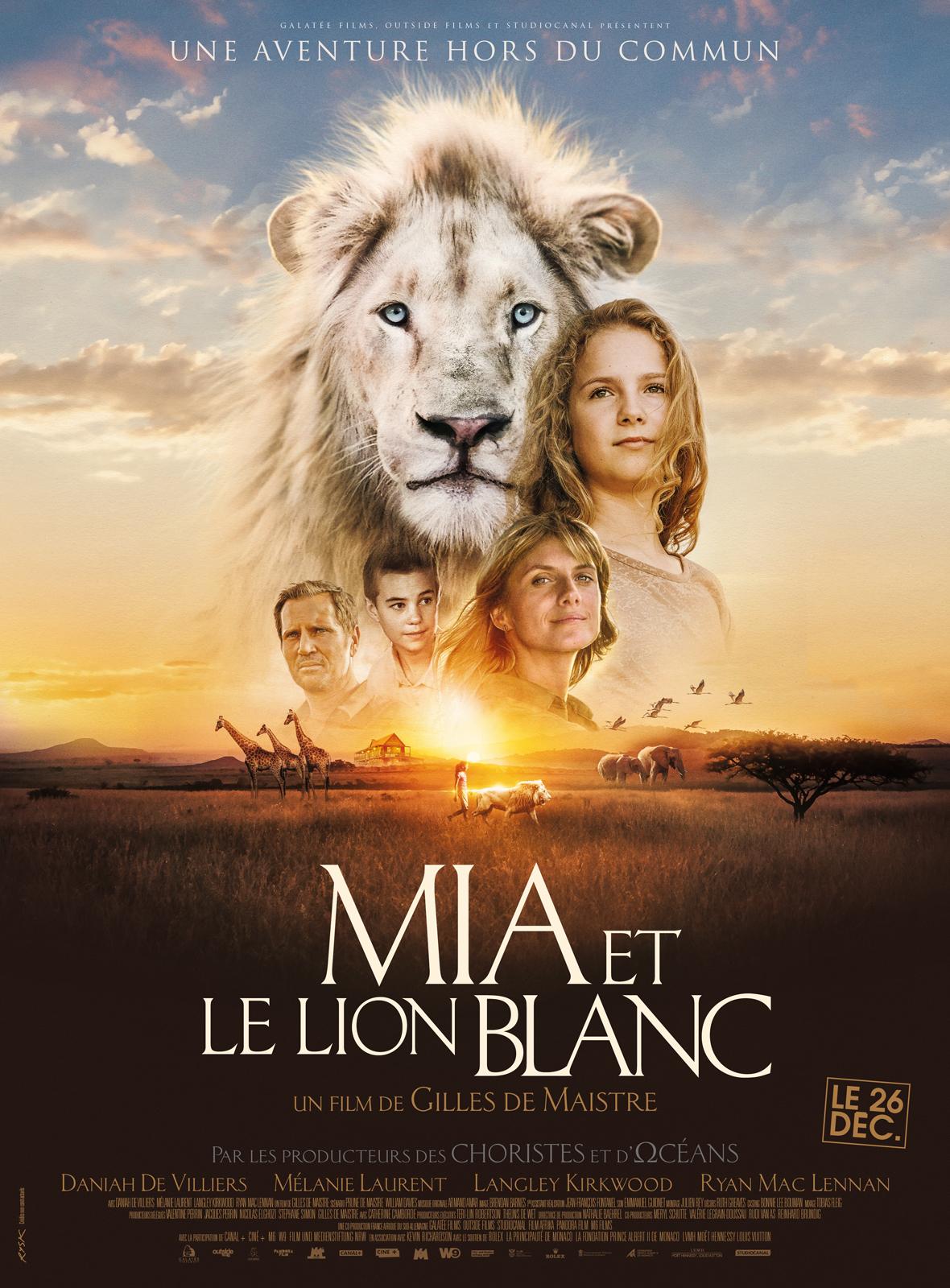 Mia Et Le Lion Blanc Critique : blanc, critique, Achat, Blanc, AlloCiné