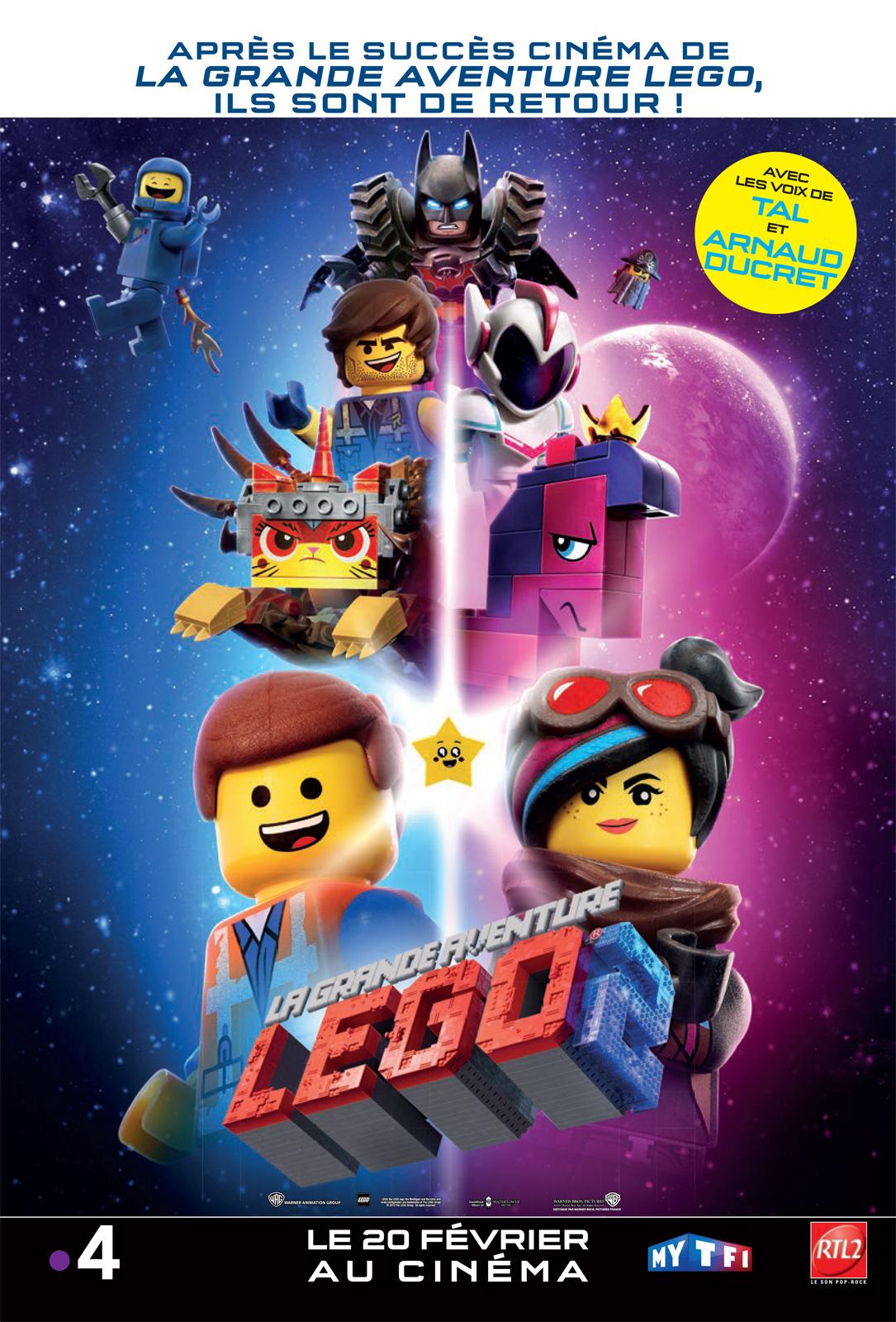 """Résultat de recherche d'images pour """"la grande aventure lego 2 affiche"""""""