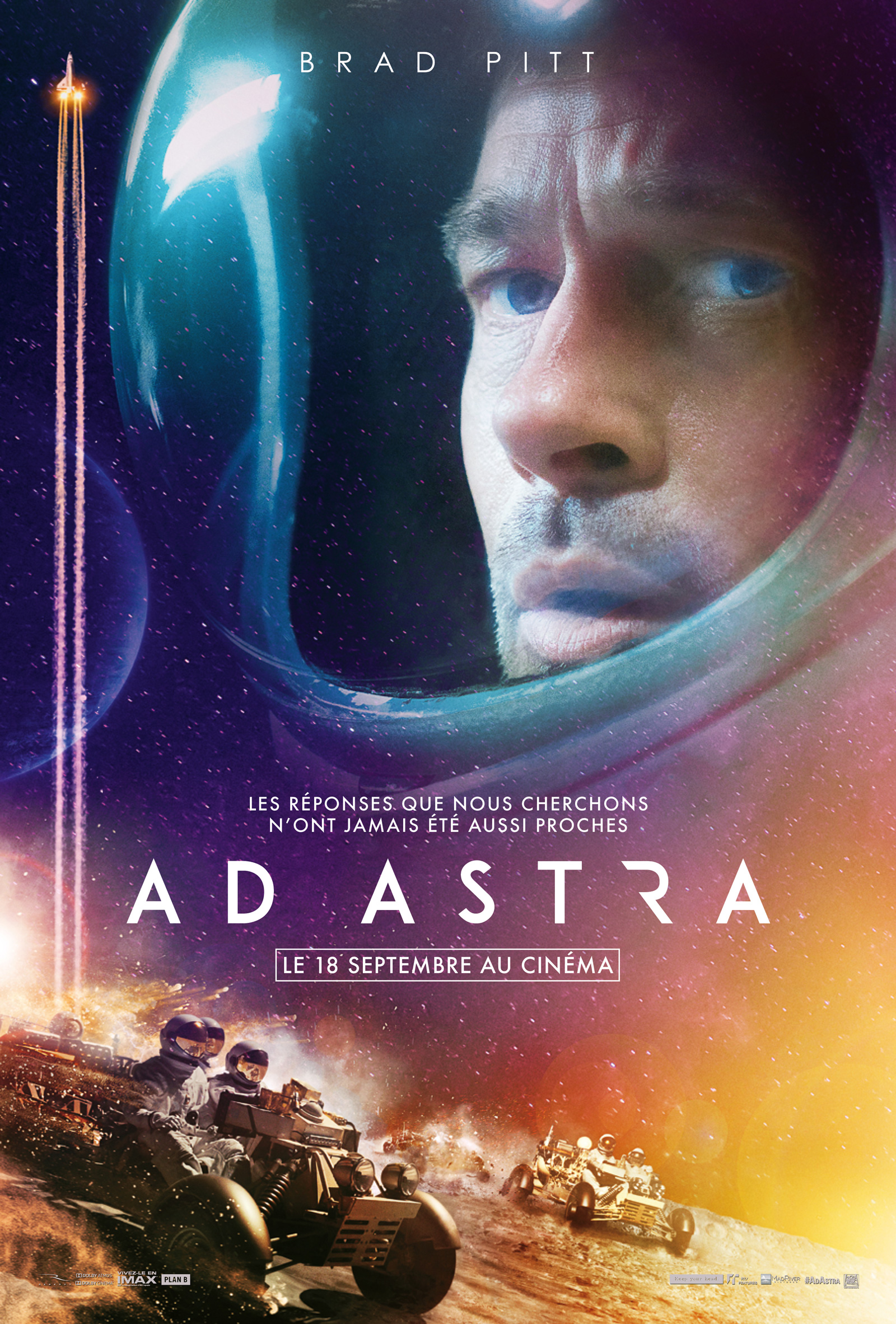 Ad Astra Film Streaming Vf : astra, streaming, Achat, Astra, AlloCiné