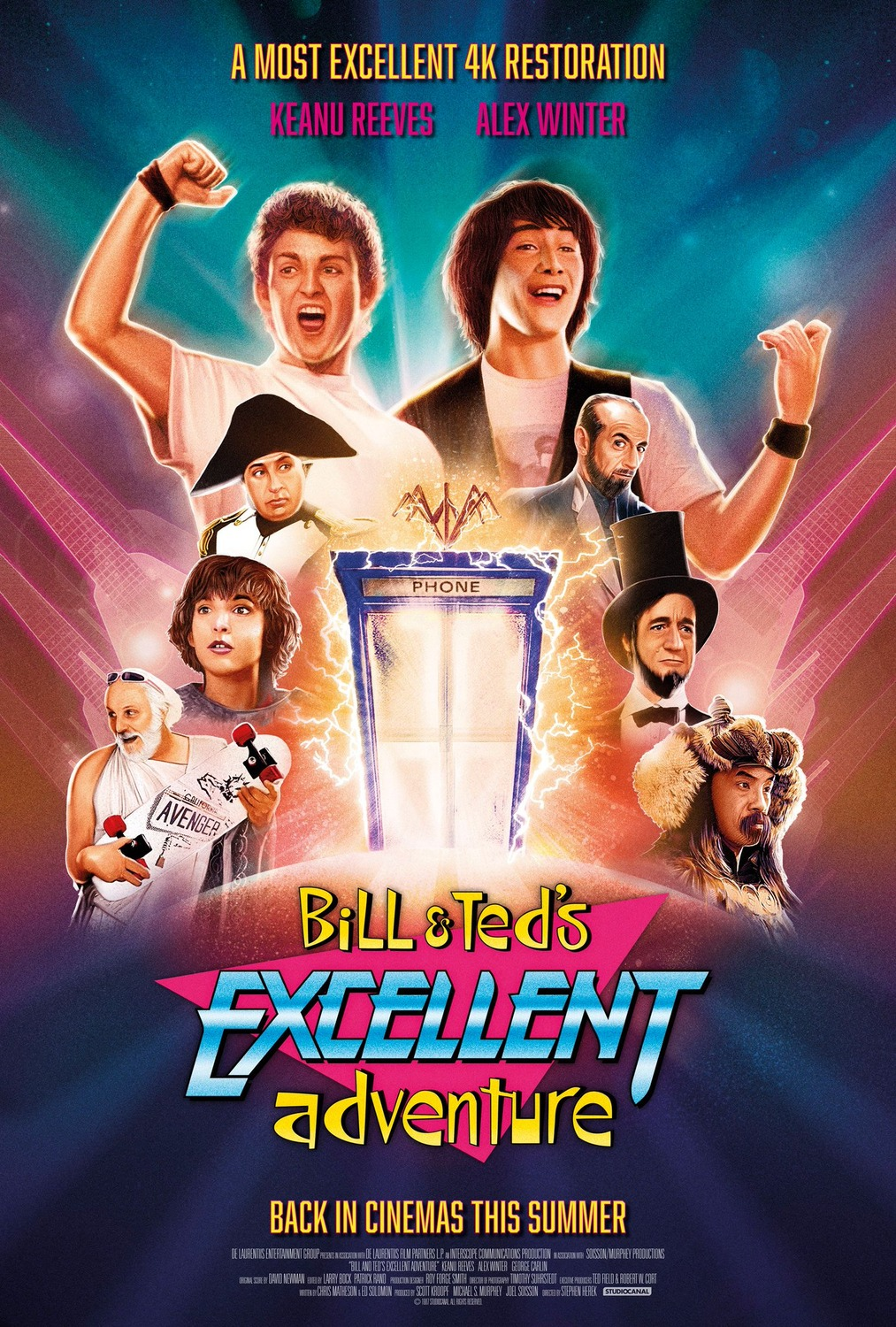 L'excellente Aventure De Bill Et Ted : l'excellente, aventure, Ted's, Excellent, Adventure, AlloCiné