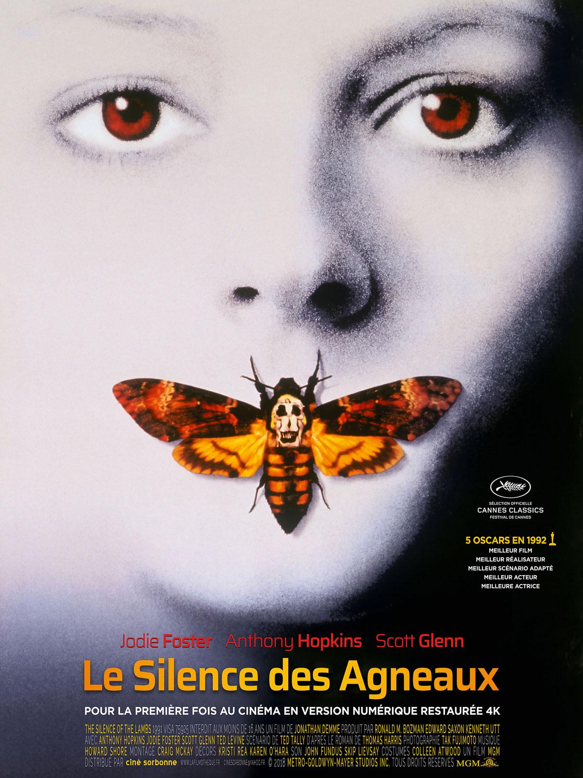 Film Le Silence Des Agneaux : silence, agneaux, Achat, Silence, Agneaux, AlloCiné
