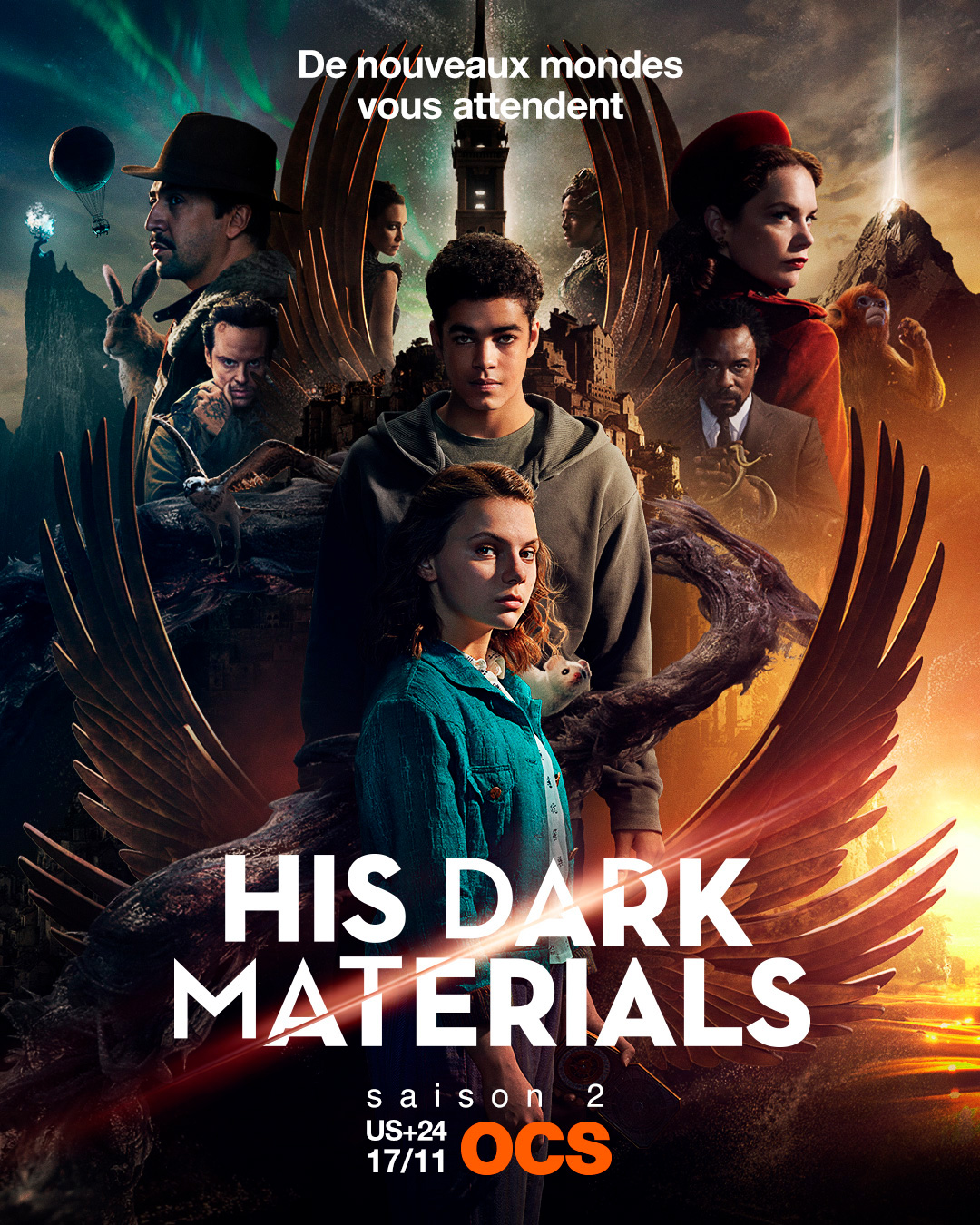 His Dark Materials Saison 1 Streaming : materials, saison, streaming, Materials, Croisée, Mondes, Saison, AlloCiné