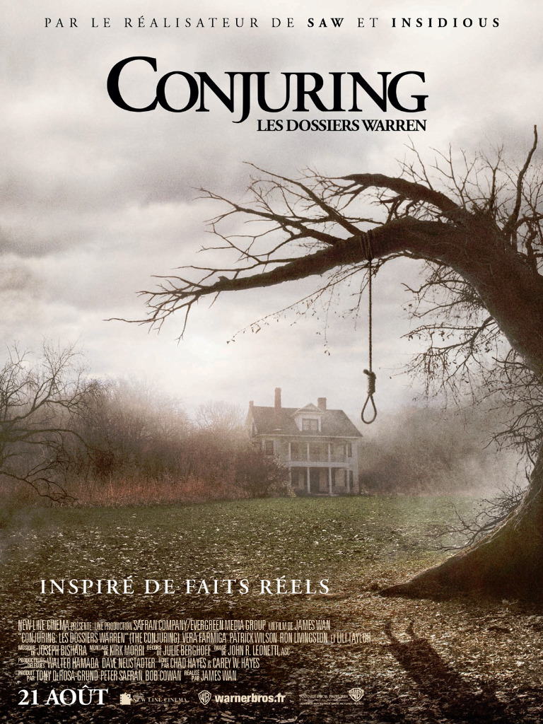 Conjuring : Les Dossiers Warren : conjuring, dossiers, warren, Achat, Conjuring, Dossiers, Warren, AlloCiné