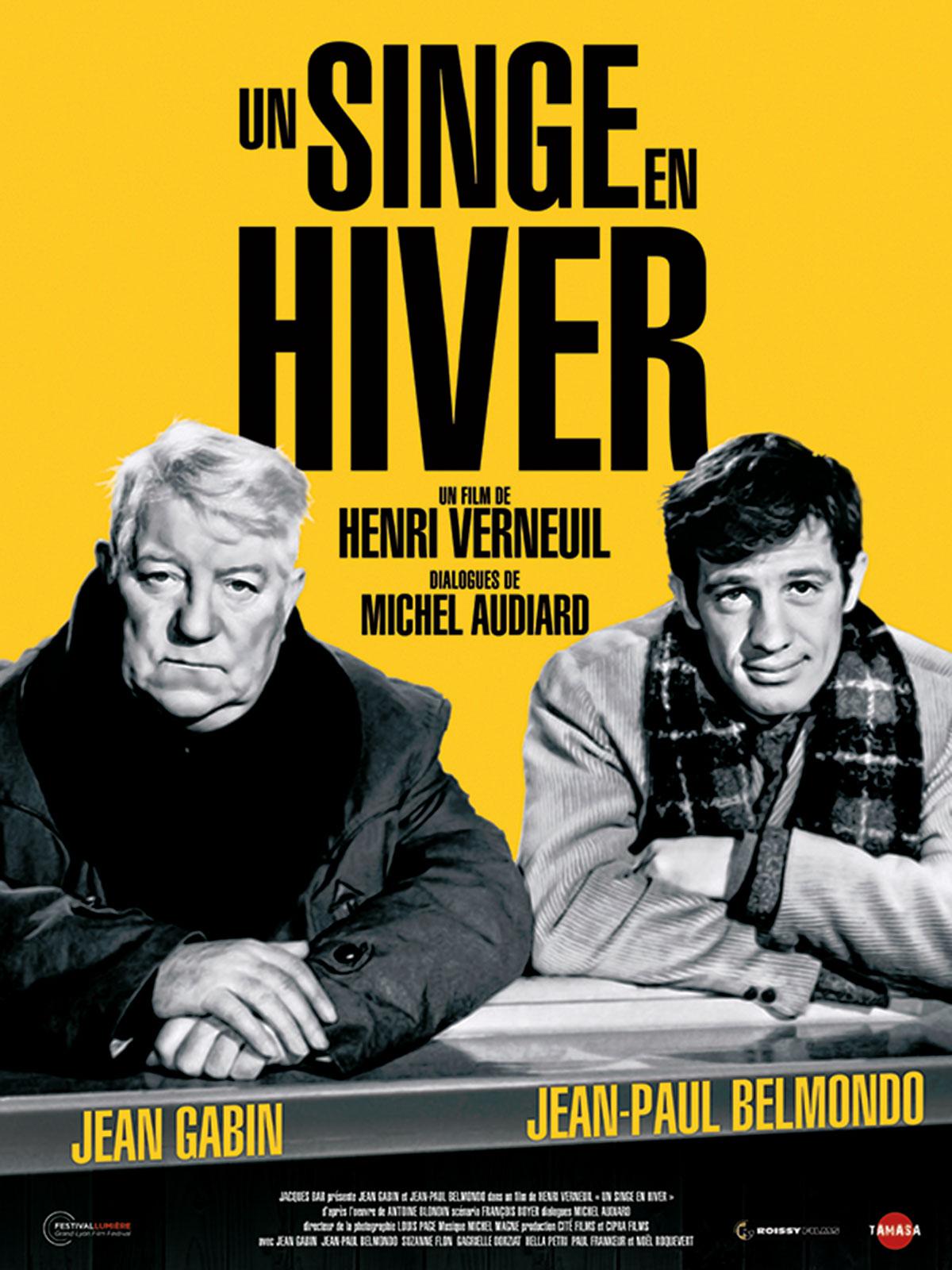 Film Un Singe En Hiver : singe, hiver, Achat, Singe, Hiver, AlloCiné