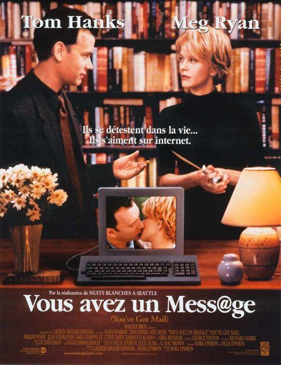 Vous avez un message : Affiche Meg Ryan, Nora Ephron, Tom Hanks