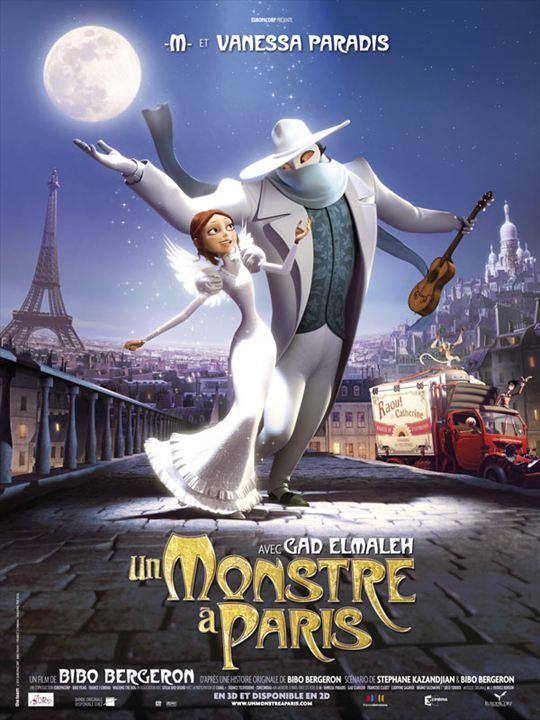 Un monstre à Paris : Affiche Matthieu Chedid