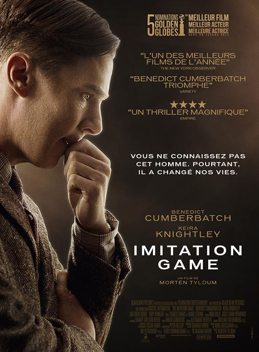 Imitation Game : Affiche