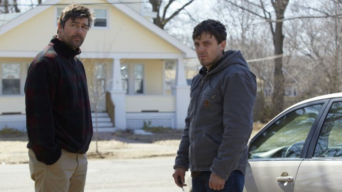 Manchester by the Sea : Photo Casey Affleck, Kyle Chandler