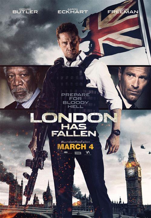 La Chute De Londre Streaming : chute, londre, streaming, Affiche, Chute, Londres, Photo, AlloCiné