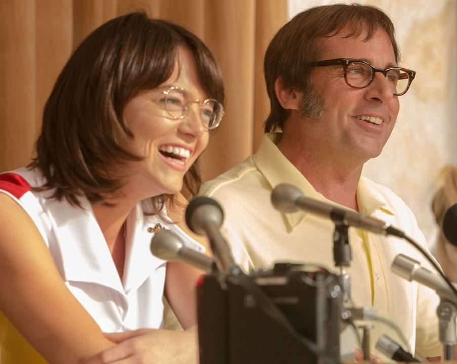 Battle of the Sexes : Photo Emma Stone, Steve Carell
