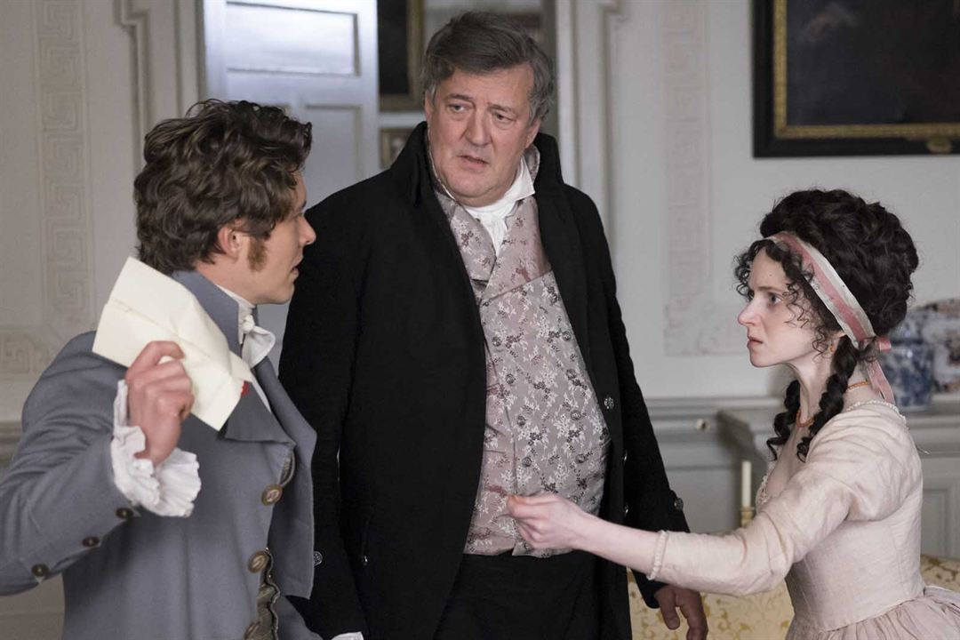 Love & Friendship : Photo Jenn Murray, Stephen Fry, Xavier Samuel