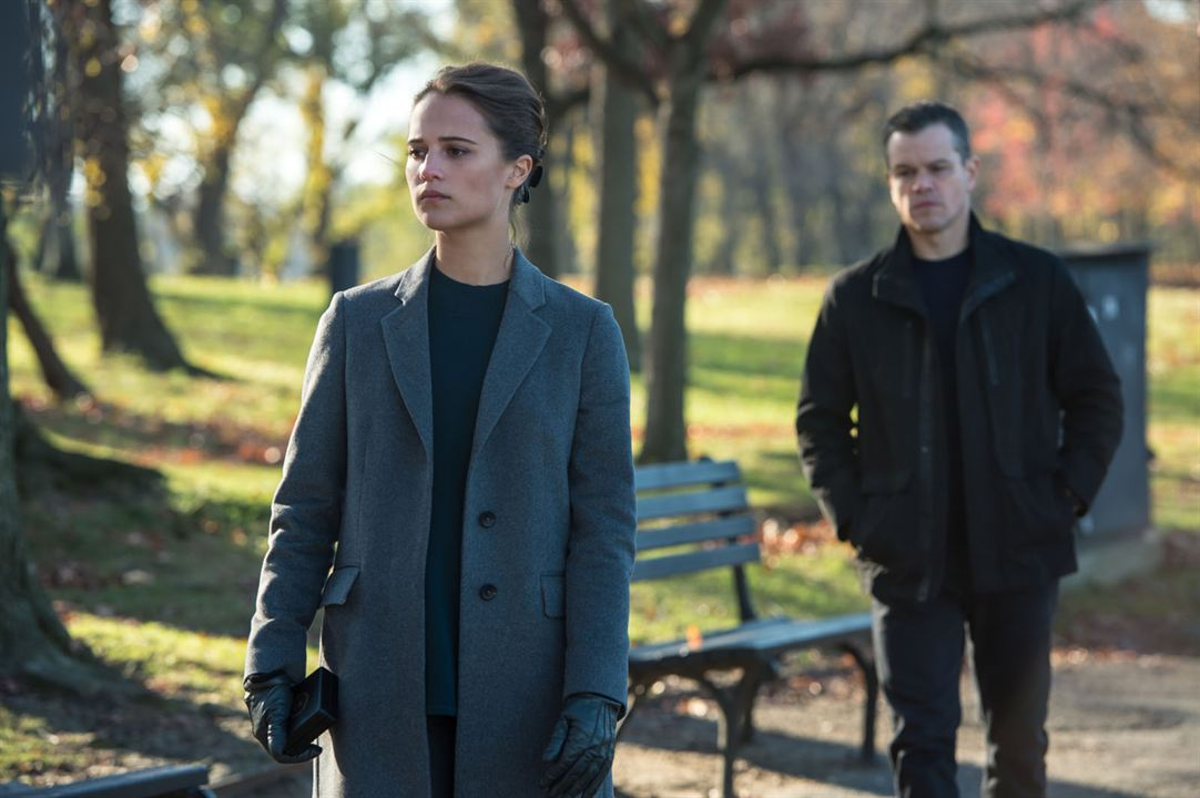 Jason Bourne : Photo Alicia Vikander, Matt Damon