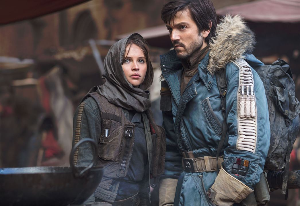 Rogue One: A Star Wars Story : Photo Diego Luna, Felicity Jones