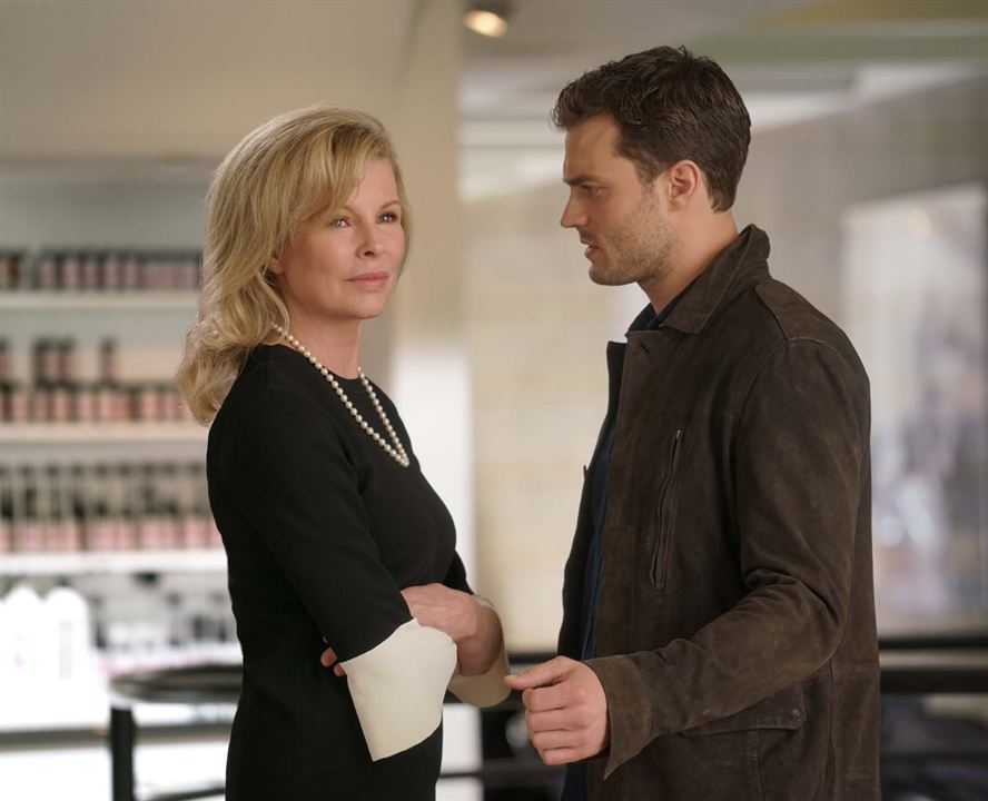 Cinquante Nuances plus sombres : Photo Jamie Dornan, Kim Basinger